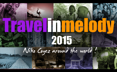 TRAVELINMELODY- One year in 2min! - Niko Coyez - Travelinmelody